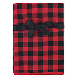 Hudson Baby® Buffalo Plaid Cotton Quilted Blanket in Red