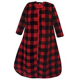 Hudson Baby® Size 18-24M Buffalo Plush Wearable Blanket in Red