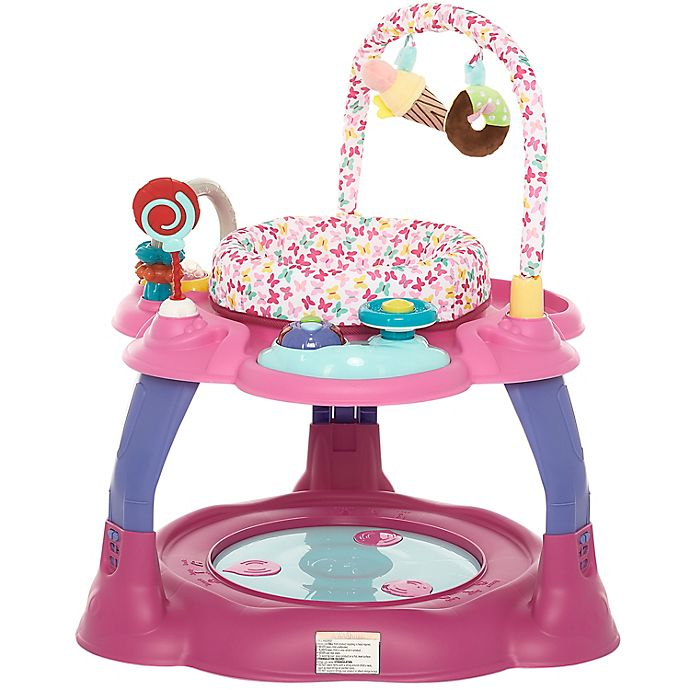 Alternate image 1 for Dream on Me Carnival 3-in-1 Activity Center and Jumper in Pink