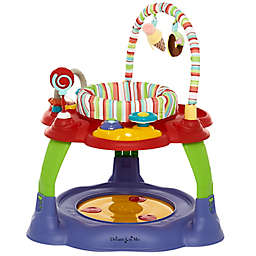 Dream on Me Carnival 3-in-1 Activity Center and Jumper in Purple/Red