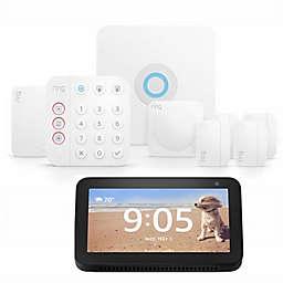 Amazon 8-Piece Ring Alarm Set with Echo Show 5 in Black