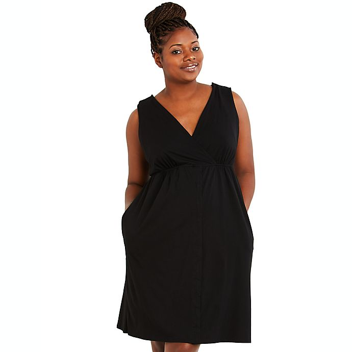 Alternate image 1 for Motherhood Maternity® 3-in-1 Labor, Delivery and Nursing Gown