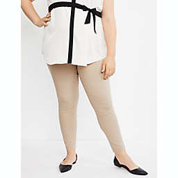 Motherhood Maternity® 1X Maia Skinny Leg Maternity Ankle Pant in Nude