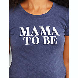 """Motherhood Maternity® """"Mama To Be"""" Maternity Graphic Tee in Navy"""