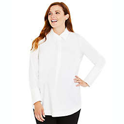 Motherhood Maternity® Button Detail Maternity Top in White