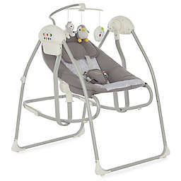 Dream On Me Sway 2-in-1 Infant Cradling Musical Swing and Rocker