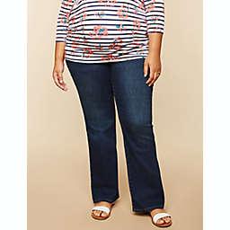 Motherhood Maternity® Plus Size Secret Fit Belly Stretch Boot Cut Jeans