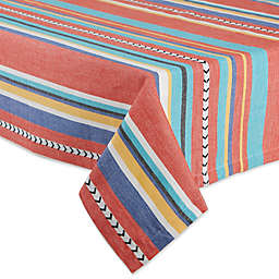 DII Verano Stripe Tablecloth
