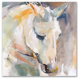 Courtside Market® Watercolor Stallion I 24-Inch Square Canvas Wall Art