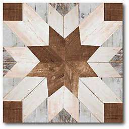 Courtside Market® Barn Quilt I 16-Inch Square Gallery Canvas Wall Art
