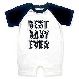 Kapital K Best Baby Ever Romper in Black/White