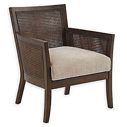 Madison Park® Diedra Wood Accent Chair in Cream