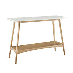 Madison Park® Parker 1-Shelf Console Table in Off-White/Natural
