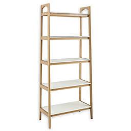 Madison Park® Parker 5-Shelf Bookcase in Off-White/Natural