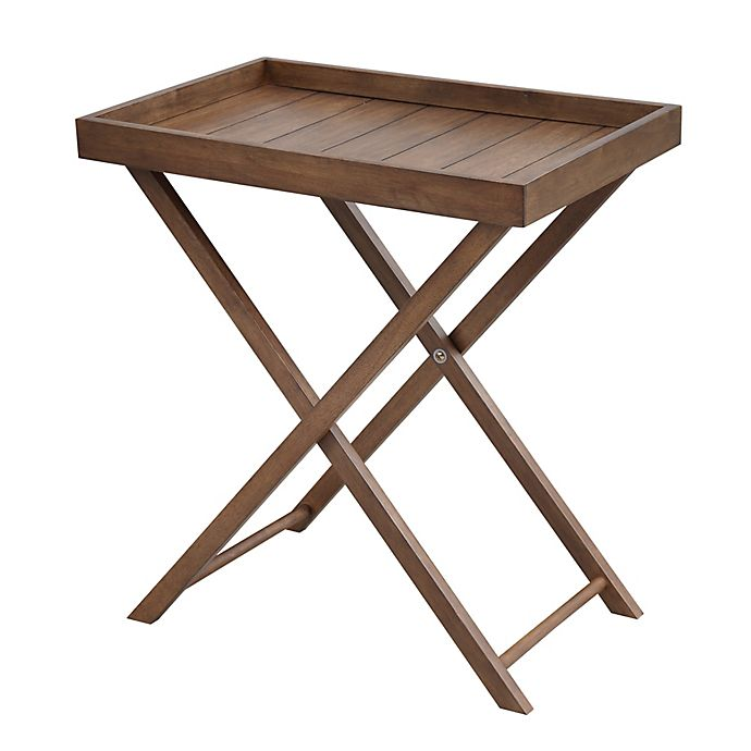 Alternate image 1 for Bee & Willow™ Home Wood Tray Table