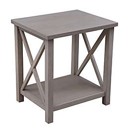 Bee & Willow™ Crossey End Table in Light Natural