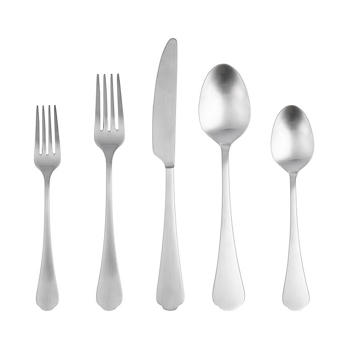 Alternate image 1 for Bee & Willow™ Portsmouth Satin 20-Piece Flatware Set