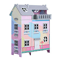 Teamson Kids Dreamland Doll House with Accessories