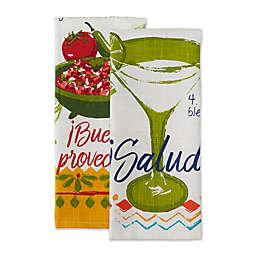 DII® Verano De Fiesta Recipe Assorted Kitchen Towels (Set of 2)
