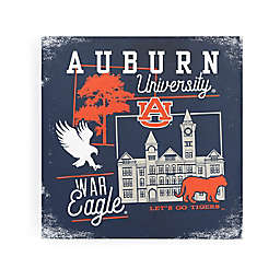 Auburn University Campus Blocks Canvas Wall Art