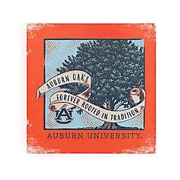 Auburn University Forever Rooted Auburn Oaks Canvas Wall Art