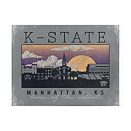 Kansas State University Graphic Canvas Wall Art