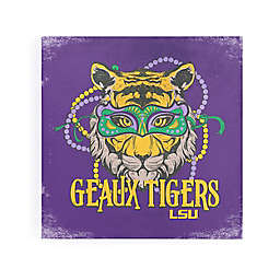 Louisiana State University Mardi Gras Tiger Canvas Wall Art