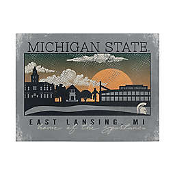 Michigan State University Graphic Canvas Wall Art