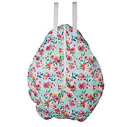 smart bottoms® Floral Hanging Wet Bag in Blue
