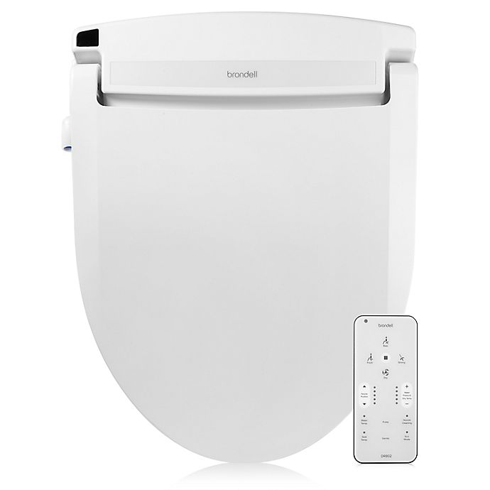 Alternate image 1 for Brondell® Swash Select DR802 Bidet Round Toilet Seat in White