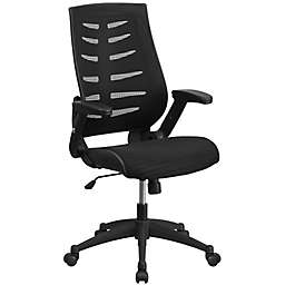 Flash Furniture High Back Mesh Office Chair in Black