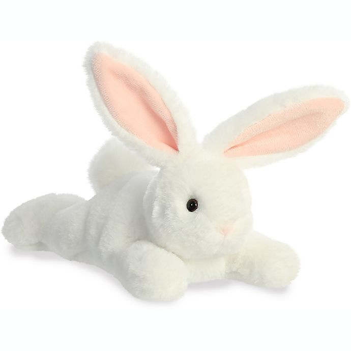 Alternate image 1 for Aurora World® 8-Inch Schooshie Bunny Plush Toy in White/Pink