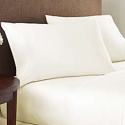 Nestwell™ Cotton Sateen 400-Thread-Count Twin Flat Sheet in Egret