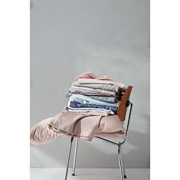 Nestwell™ Cotton Sateen 400-Thread-Count Twin XL Fitted Sheet in Illusion Blue