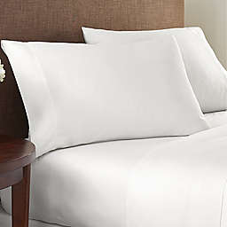 Nestwell™ Cotton Sateen 400-Thread-Count Twin Fitted Sheet in Bright White