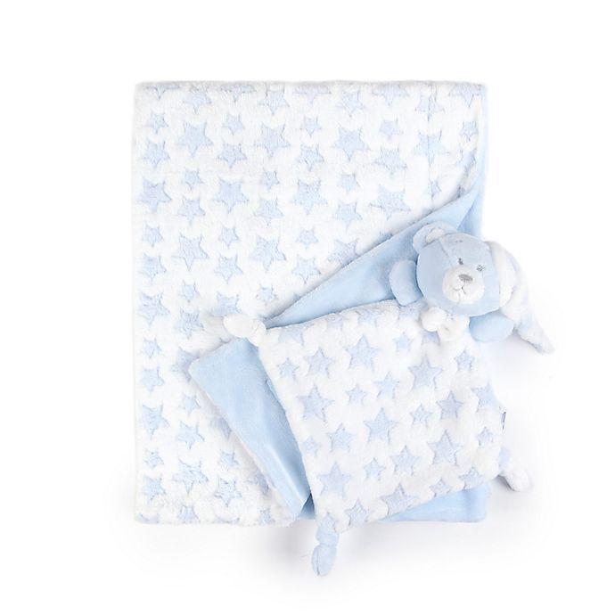 Alternate image 1 for Tadpoles 2-Piece Security Blanket and Lovie Set