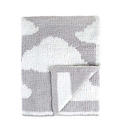 Tadpoles Cloud Chenille Blanket in Grey