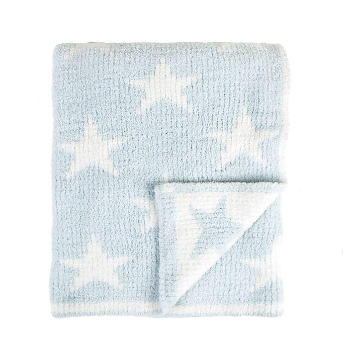 Alternate image 1 for Tadpoles Star Chenille Blanket in Blush