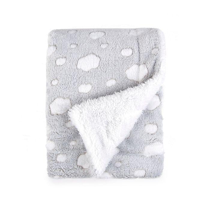 Alternate image 1 for Tadpoles Cloud Plush Blanket