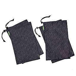 Travelon® Antimicrobial Shoe Bags in Grey (Set of 4)