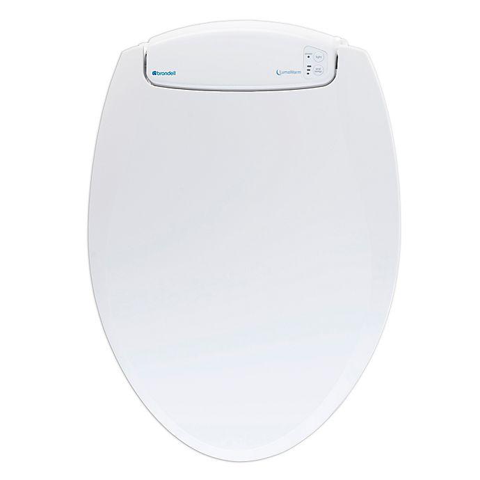Alternate image 1 for Brondell LumaWarm Round Heated Nightlight Toilet Seat