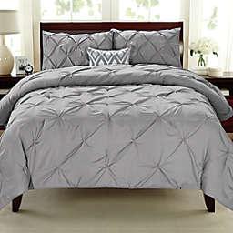 Pintuck 3-Piece Comforter Set