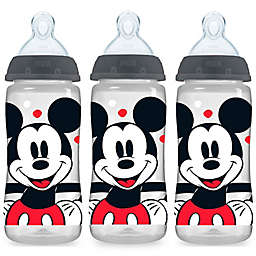 NUK® Smooth Flow Disney Mickey Mouse 3-Pack 10 oz. Bottles