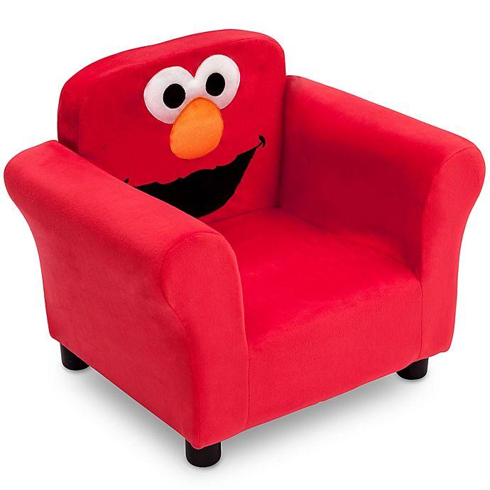 Alternate image 1 for Delta Children Sesame Street® Elmo Upholstered Chair