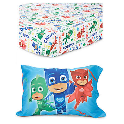 PJ Masks 2-Piece Toddler Sheet Set in Blue