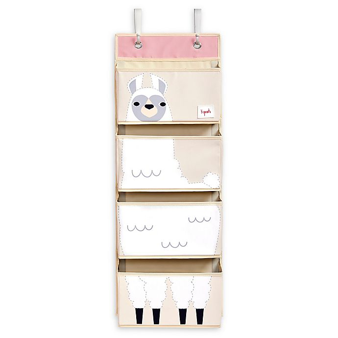 Alternate image 1 for 3 Sprouts Llama Hanging Wall Organizer