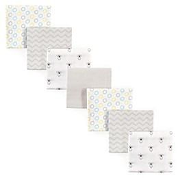 Luvable Friends® 7-Pack Koala Flannel Receiving Blankets in Yellow