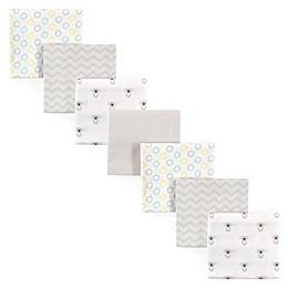 Luvable Friends® 7-Pack Koala Flannel Receiving Blankets in Yellow