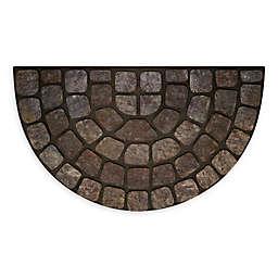 Achim Stone Slice 18 X 30 Raised Rubber Door Mat In