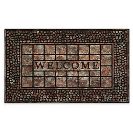 Achim Pebble Squares Welcome 18\